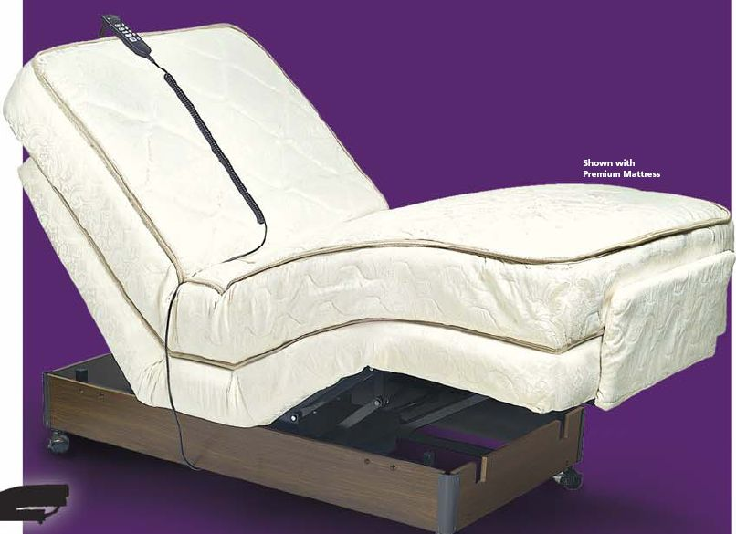 Adjustable Rise and Recline Bed